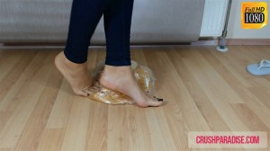 Crystal's Barefoot Bread Crushing