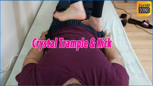 Crystal Barefoot Trample & Kick