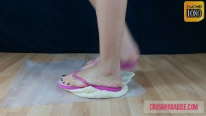 Crystal's Flip Flops Pizza Dough Crush