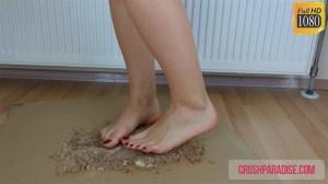Tiffany's Bare Feet Cake Crush