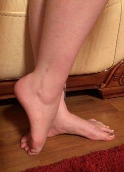 Maria Foot Model