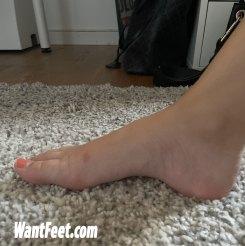 barbie foot model