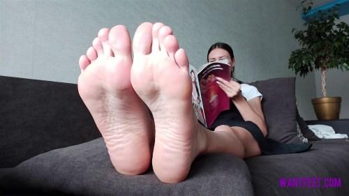 School Teachers Stinky Feet in Boots