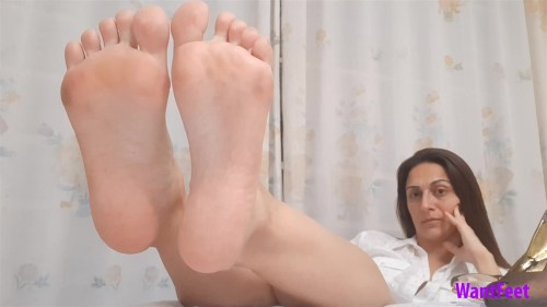 Business Womans Sexy Soles