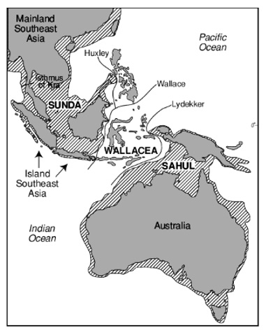 Land mass names