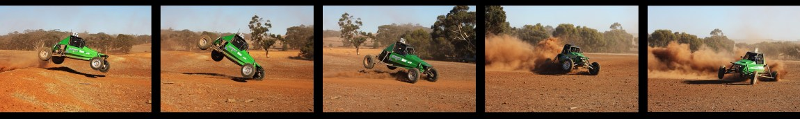 Justin Wells (122) got some air time at the 2018 WAORRA Duke of York Hotel Dryandra Chase