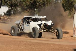 Jared Percival - third outright at the 2017 Bencubbin 400