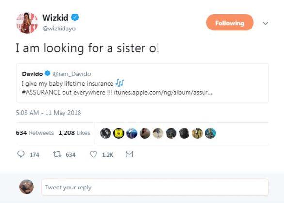 Davido tweet