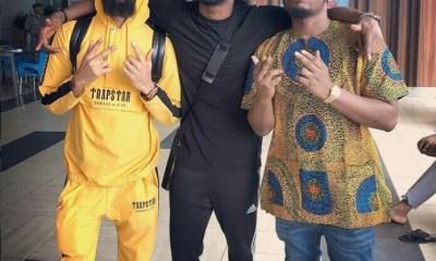 Olamide, Phyno And Paul Okoye