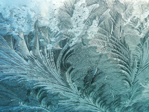 Ice Nice Dendritic Fractals River Time With