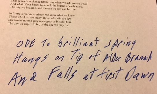 Governor's haiku