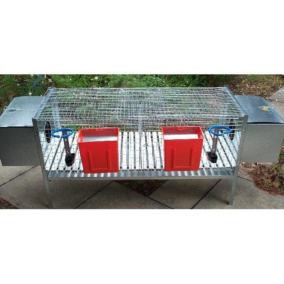 Rabbit Hutch 2 compartment