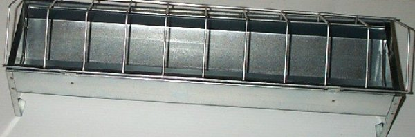 Novital Metal Trough Feeder 75cm