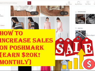 How to Increase Sales on Poshmark