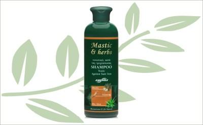 Mastiek shampoo tegen haaruitval