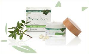 Mastiek anti-rimpel gezichtscrème
