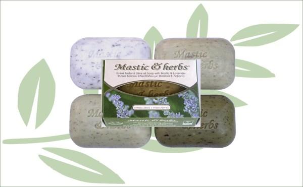 Mastiek natuurlijke zeep olijfolie en lavendel