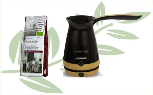 Griekse koffiepot