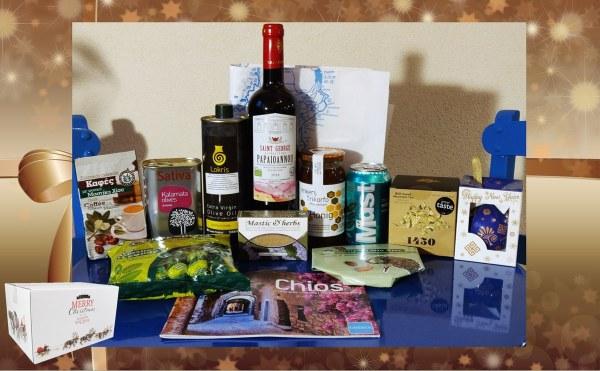 Grieks kerstpakket producten