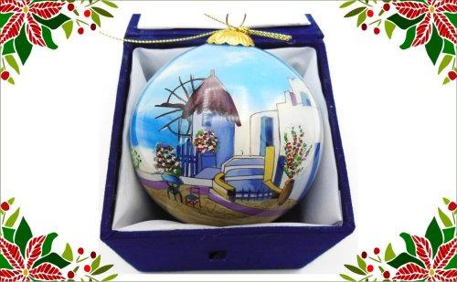 Griekse kerstbal