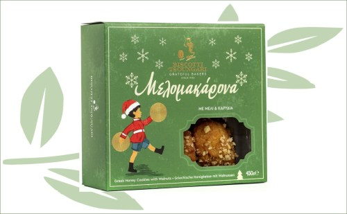 Griekse honingkoekjes walnoten