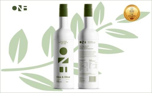 One & Olive Premium Extra Vierge Griekse Olijfolie
