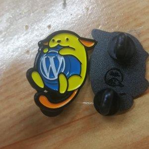 wapuu original pin