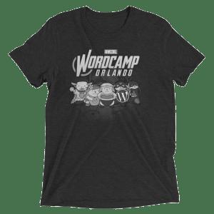 WordCamp Orlando 2017 Grayscale T-Shirt