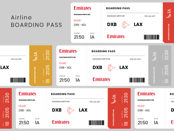 emirates boarding pass