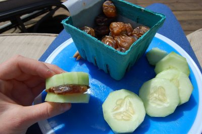 cucumber with dates