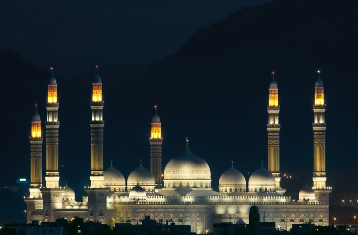Al-Saleh-Mosque-Night