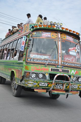 llahore bus