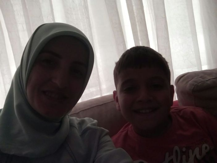 Little Muhammad and Leyla sister