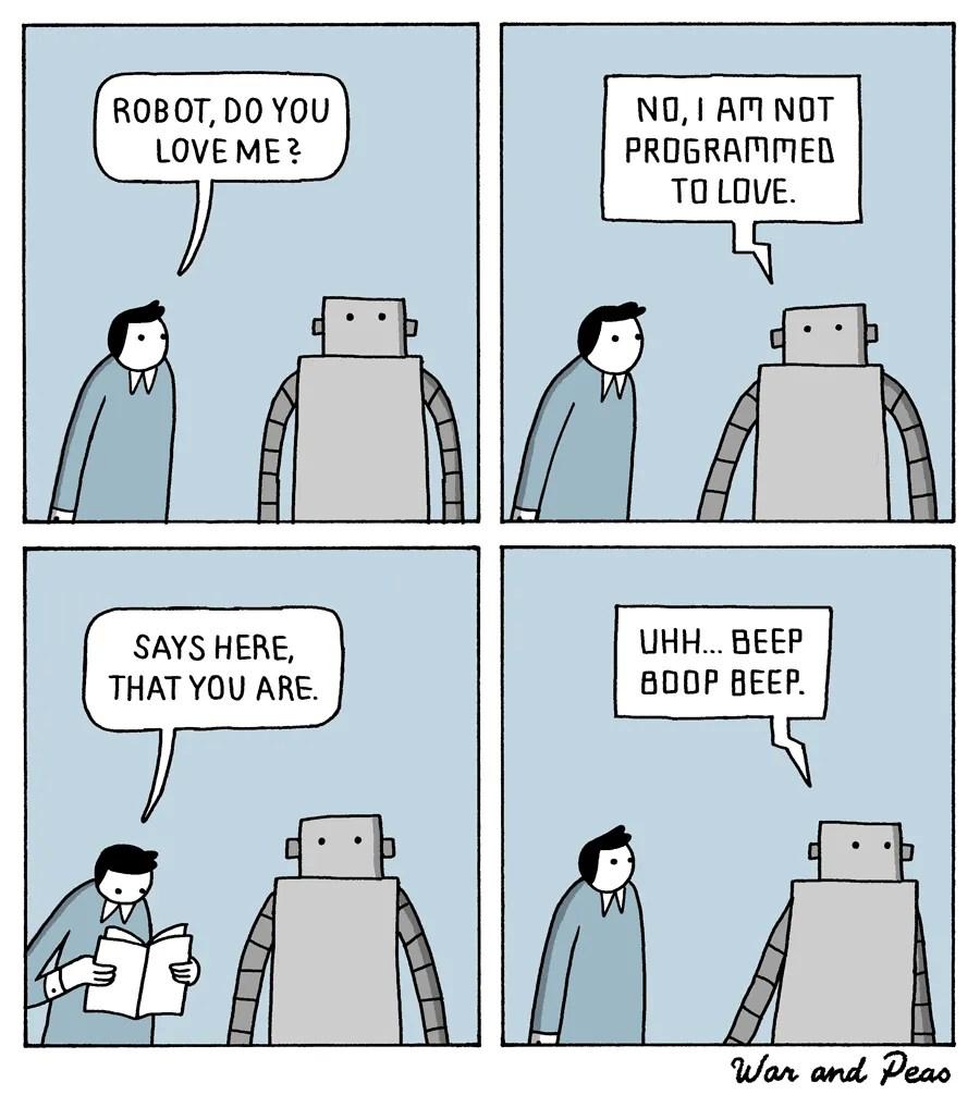 War and Peas - Robot - Jonathan Kunz and Elizabeth Pich