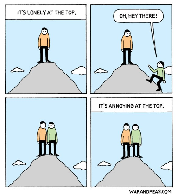 war-and-peas-lonely-at-the-top-comic-cartoon-webcomic-funny