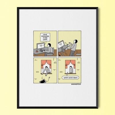 War and Peas - Weak Print