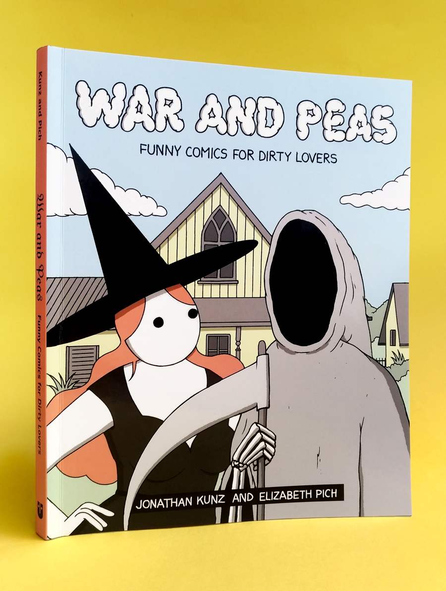 War and Peas - Book Cover - Elizabeth Pich and Jonathan Kunz