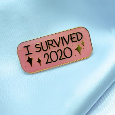 War and Peas - I Survived 2020 Pin