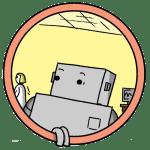 Robot Character Portrait