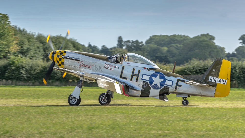 "P51 Mustang G-MSTG ""Janie"""