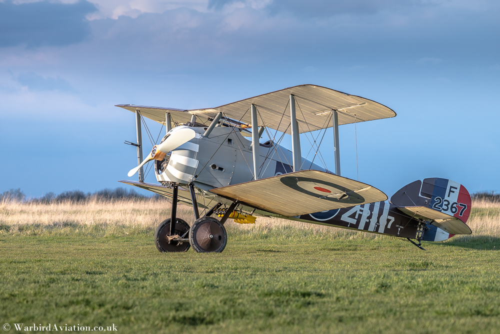 Sopwith Snipe F2367 at Stow Maries