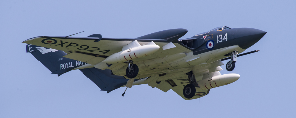 Sea Vixen G-CVIX - Shuttleworth Fly Navy