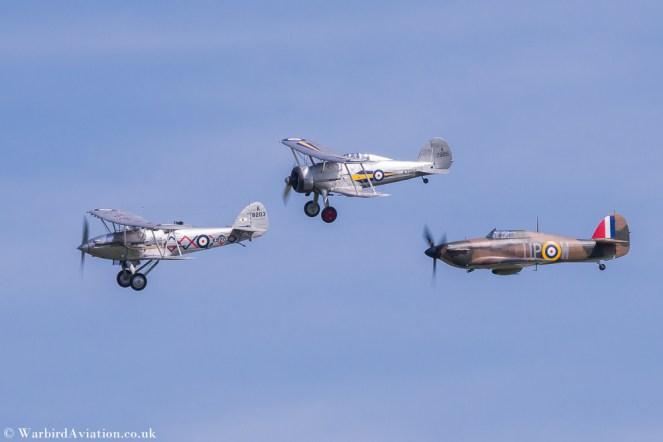 Three ship inter war formation