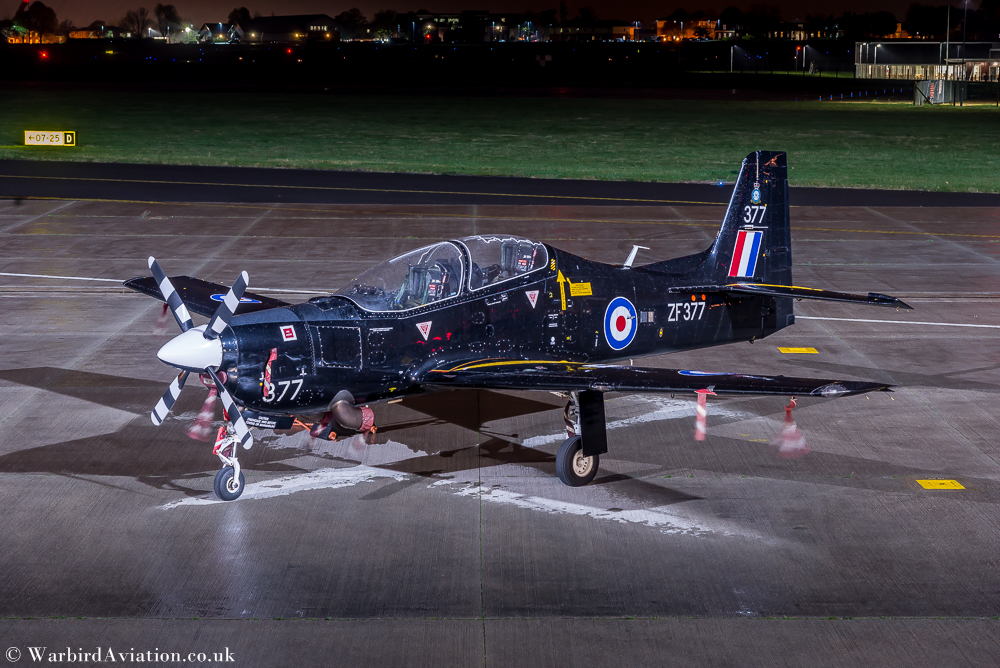 Tucano T1 (ZF371) from 1 Sqn
