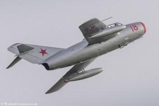 Norwegian Air Force Historical Squadron MiG 15 N104CJ