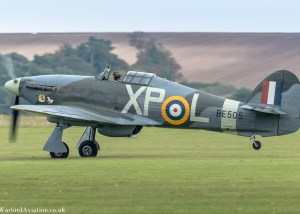 Hawker Hurricane BE505 Pegs - Duxford Battle of Britain 2017