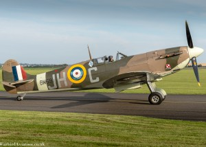 Spitfire BM597 @ Duxford Battle of Britain Show 2017