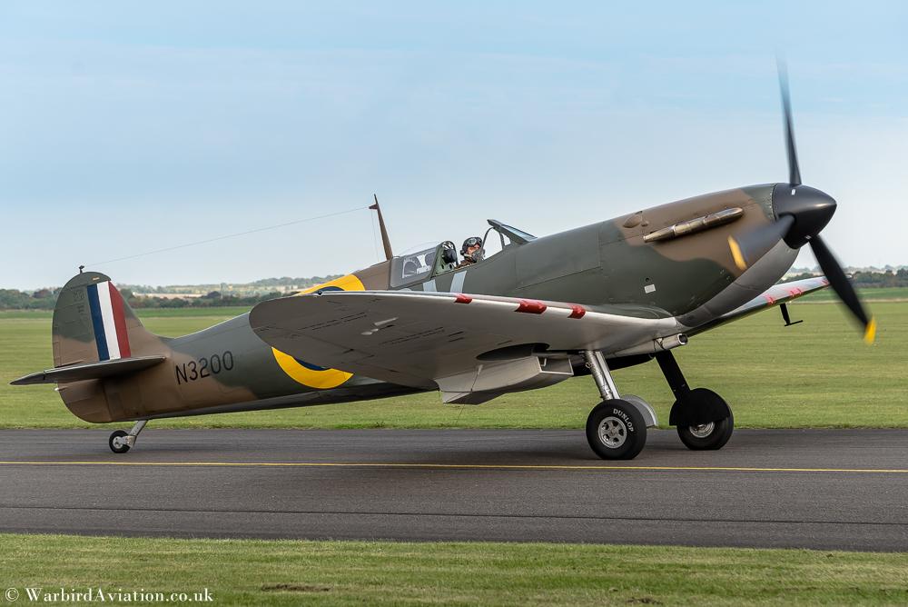Spitfire N3200 @ Duxford Airshow