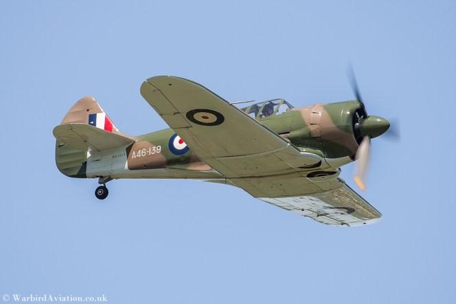"Commonwealth CA-13 Boomerang 'A46-139' ""Phooey"" (NX32CS)"