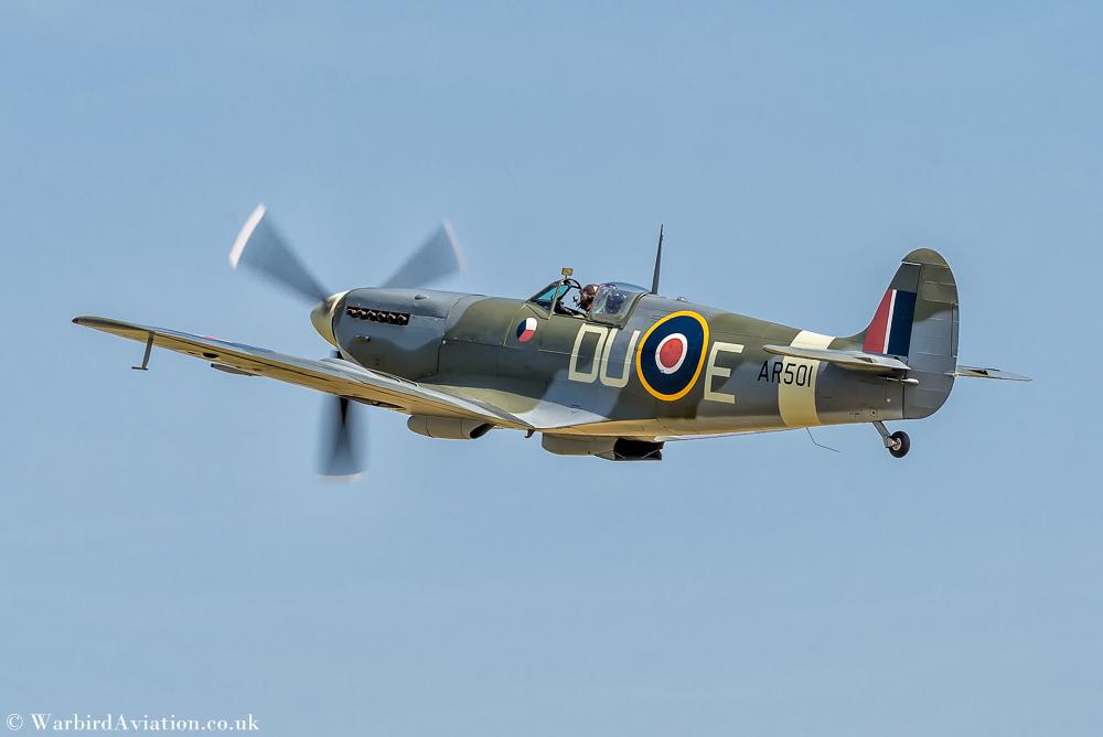 Spitfire LF Mk Vc AR501 G-AWII